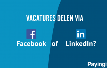 Vacatures delen via Facebook of LinkedIn?